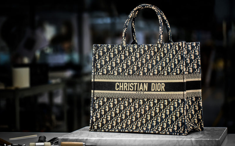 b8c447611cdf I always love to see how items are made and this is one is a real treat.  This is the making of the embroidered book tote bag by Christian Dior.